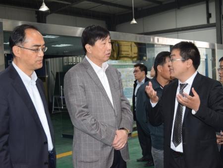 中国科协党组成员、书记处书记宋军视察