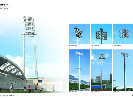 广西25米40米户外高杆灯价格
