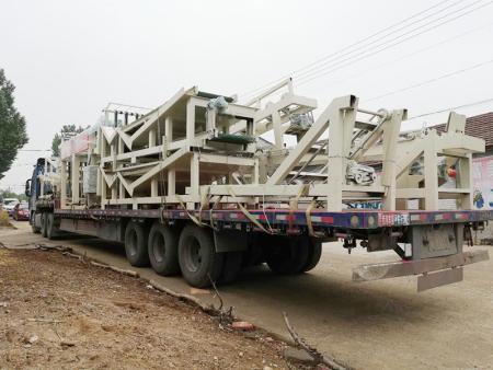 发往广西贵港一托二自动生产线设备