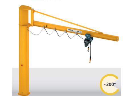 德马格悬臂吊在众多起重设备中有什么优势?
