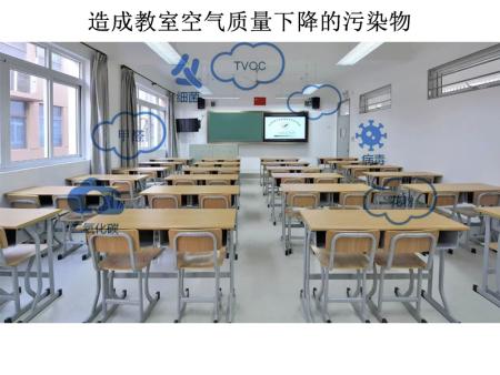 教室安装新风系统及空气净化消毒装置是保障学生健康呼吸的保证