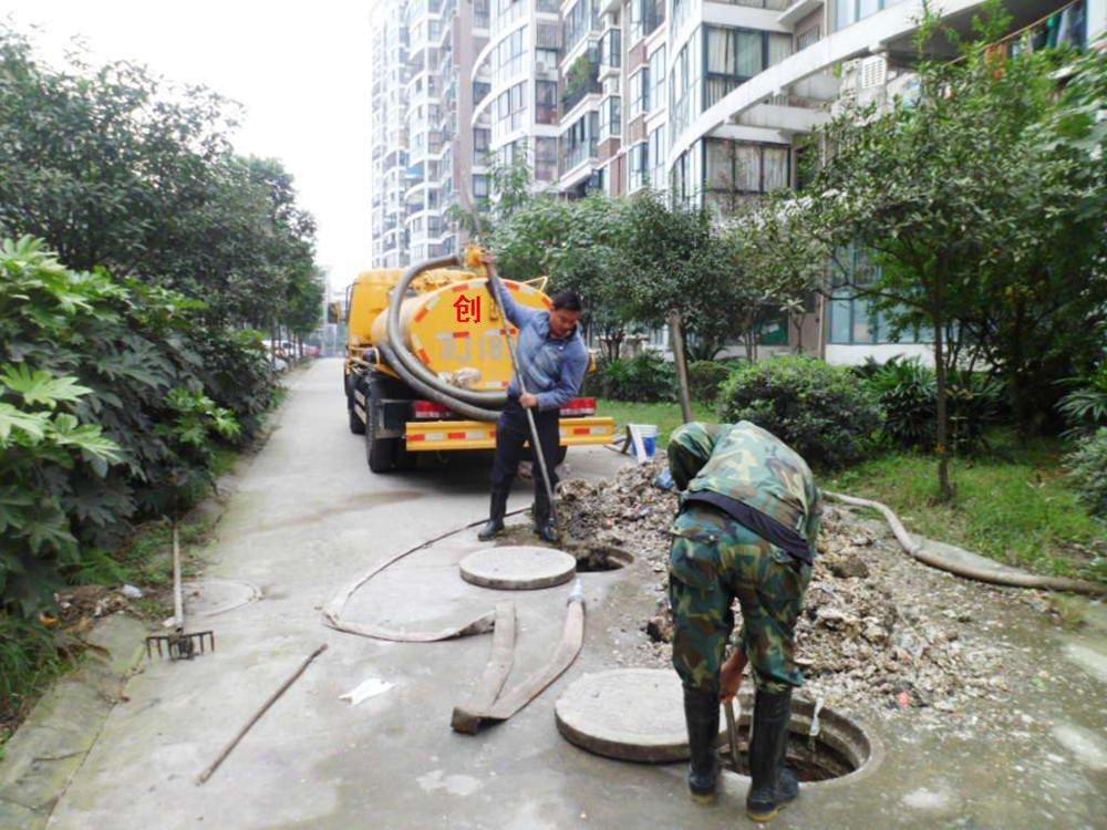 郑州市淮河路管道疏通
