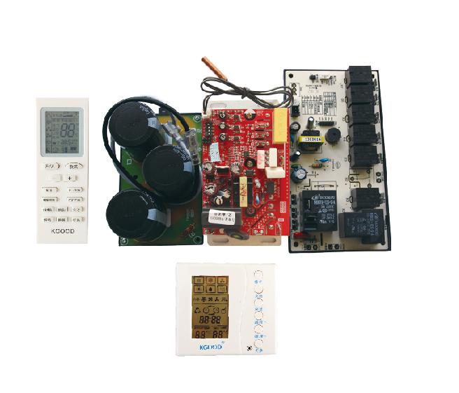交流直流變頻柜機通用控制系統