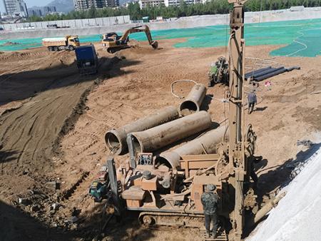 章丘地源热泵工程