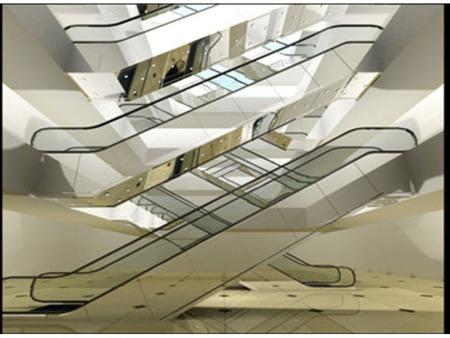 自动扶梯装饰