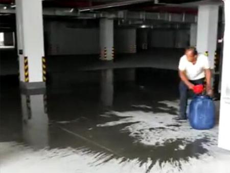 山东济宁市西美地下车库