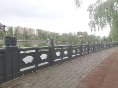 河道护栏的安装应用