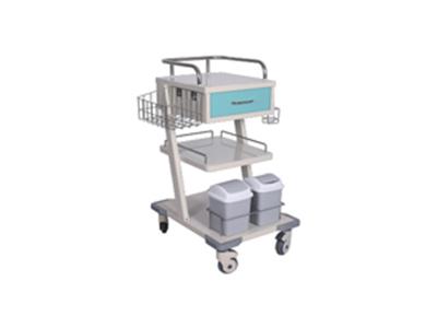 CGC-009不锈钢喷塑输液单抽治疗车