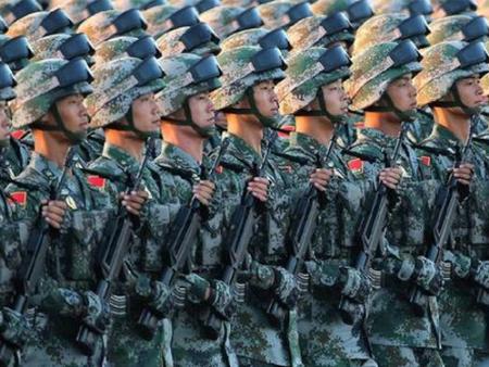 致敬中国军人