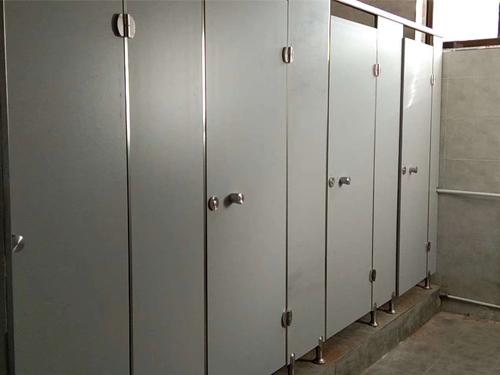 複合板衛生間隔斷安裝