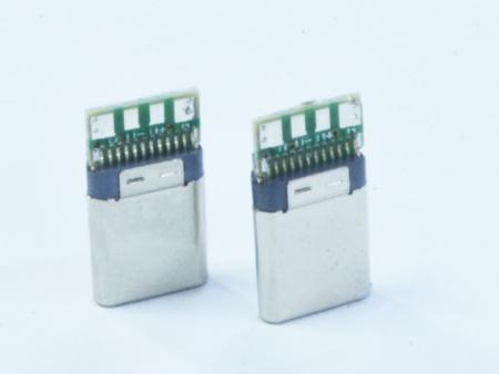大江新产品  厂家直销 TYPE-C黑胶插头 音频插头