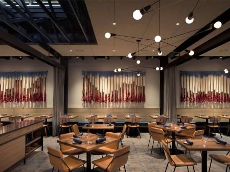 众派思商业设计分享 | 美国加州PAUSA餐厅设计