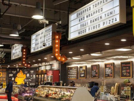 众派思商业设计分享 | 纽约布鲁克林全食超市设计