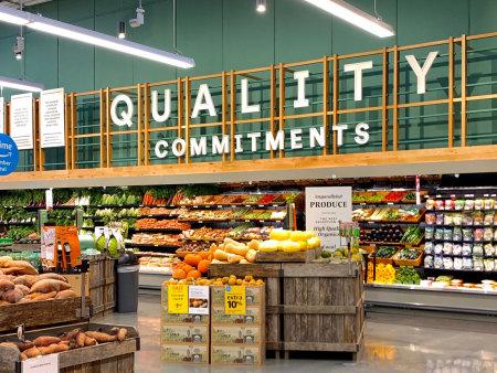 众派思商业设计分享 | 美国新泽西州Whole Foods Market超市设计