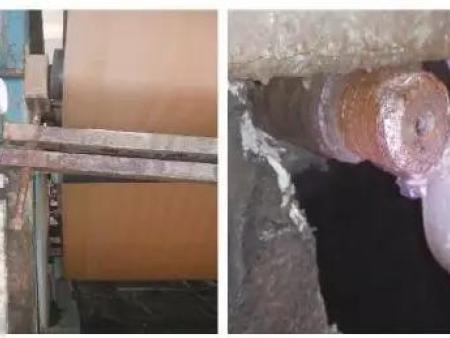 湿法烟气脱硫贝博论坛皮带脱水机滤布张紧装置优化设计