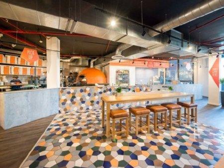 众派思商业设计分享 | 南非First Base快餐厅设计