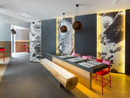 众派思商业设计分享 | 法国创意现代风Ko? 餐厅设计