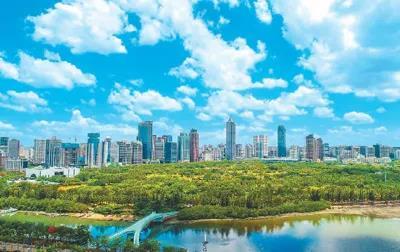 """大氣污染治理速度領跑世界,公眾藍天幸福感顯著增強 你瞧,你瞧,中國的""""氣質""""好起來了!"""