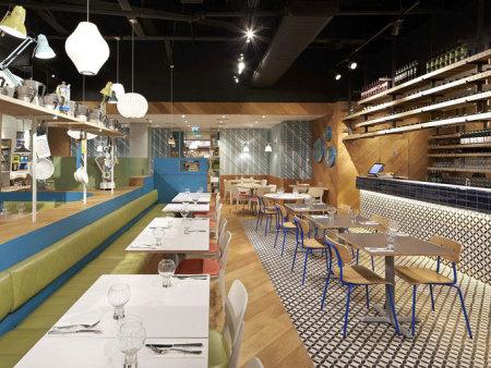 众派思商业设计分享 | ASK Italian意大利创意餐厅设计
