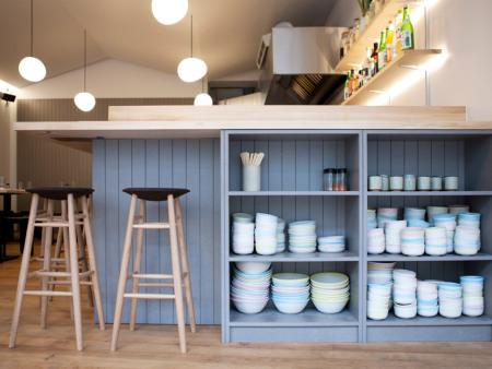 众派思商业设计 | 伦敦jidori日式餐厅设计