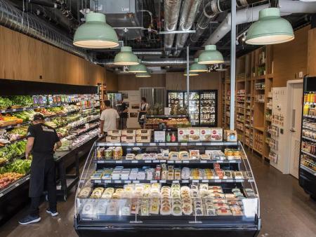 众派思商业设计分享 | 加拿大城市美食生鲜超市设计