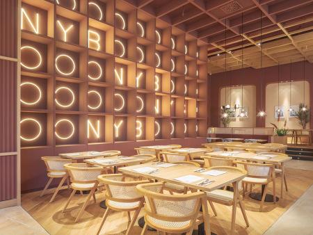 众派思商业设计分享 | 纽约工业区Burger现代化餐厅设计