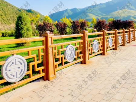 新中式组合护栏