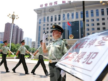 武汉市武警部队消防案例