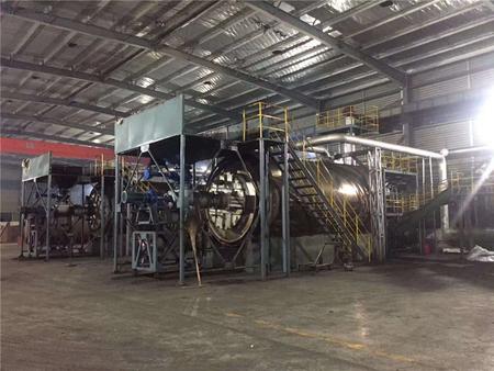废旧轮胎炼油设备生产过程中三废的处理方法