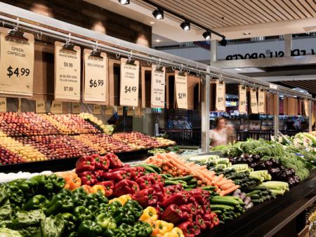 众派思商业设计分享 | Westfield Burwood Natural Fresh Grocer超市设计
