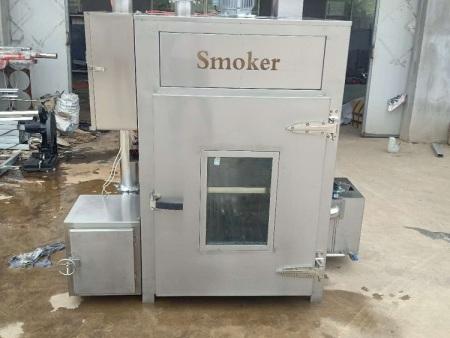 蒸煮烘干煙熏一體爐