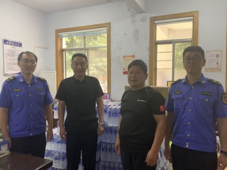 我公司圆满完成青州市文明城市创建执勤任务,得到社会各界一致好评