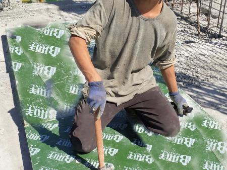 塑面建筑模板生产技术【单板修补工序的质量检验】