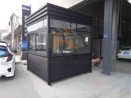 温州公园钢结构岗亭