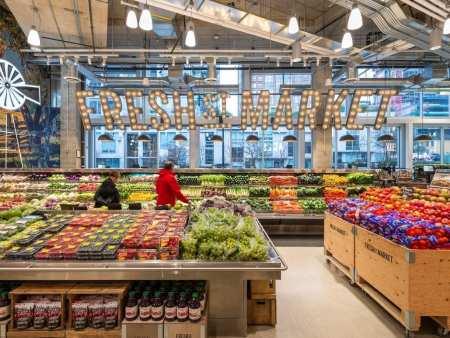 众派思商业设计分享   温哥华Fresh St. Market超市设计