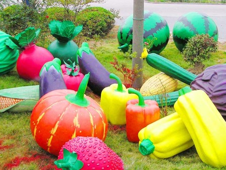 生態農業園區景觀雕塑