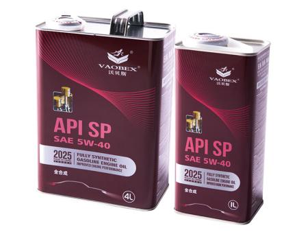 API SP SAE 5W-40 全合成汽油机油