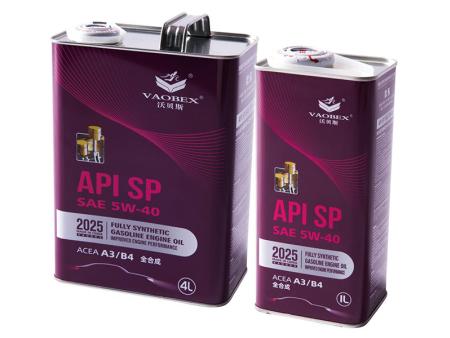 API SP SAE 5W-40  全合成汽油机油 ACEA A3/B4