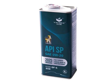 API SP SAE 0W-20  全合成汽油机油 ILSAC GF-6