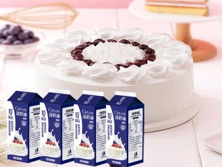 山東福神食品介紹淡奶油的用途