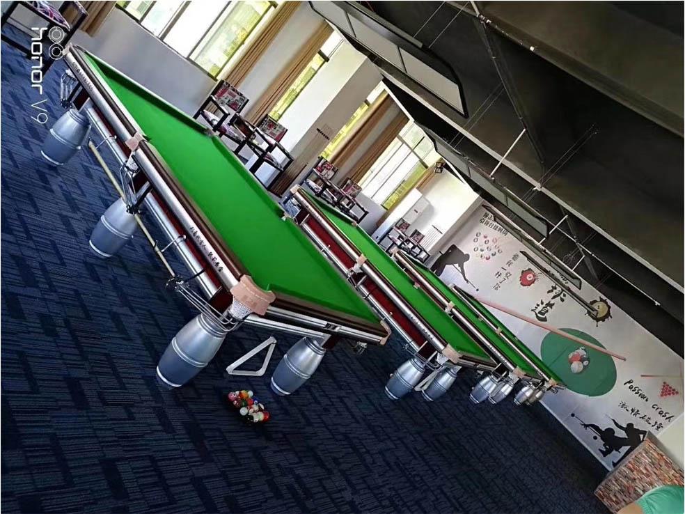 青海台球桌专卖店-台球厅的基本设计要求