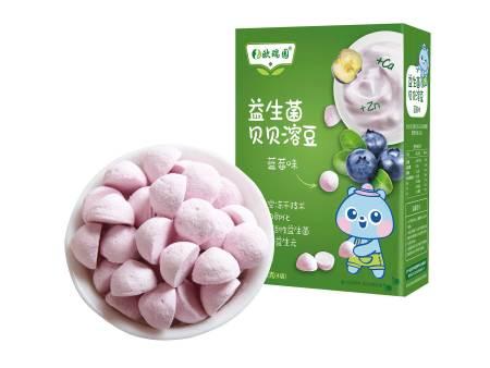益生菌酸奶溶豆蓝莓味