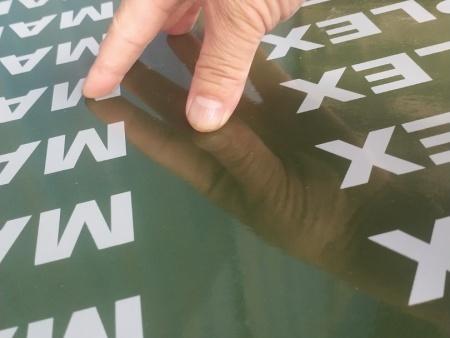 钢化膜覆塑模板的铺板和预压