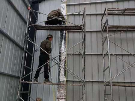 甘肃彩钢房活动房厂家-活动房安装施工需要注意的事项