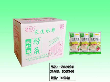 【食品】山東紅薯粉條廠家生產