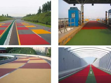 彩色防滑路面有哪些優勢能被廣泛應用