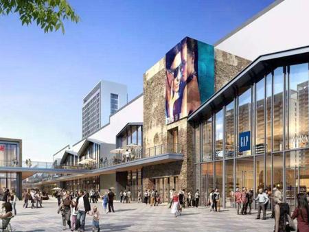 奉化(万达广场)商务区1#地块项目外装二标段