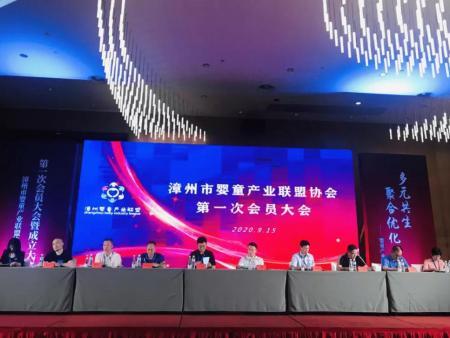 祝賀漳州市嬰童產業聯盟協會第 一次會員大會暨成立大會圓滿成功