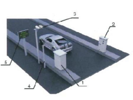 ZWIN-VE06水平固定式機動車尾氣遙感監測系統