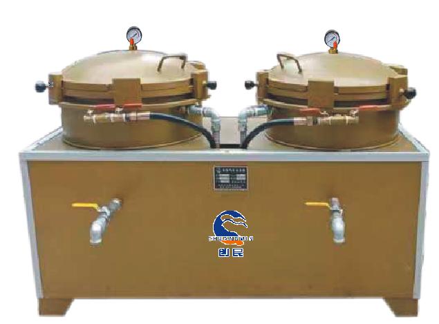 CM-55型雙桶氣壓煉油機